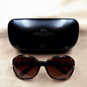 Coach Kissing C Sunglasses  HC8145 Dark Tortoise